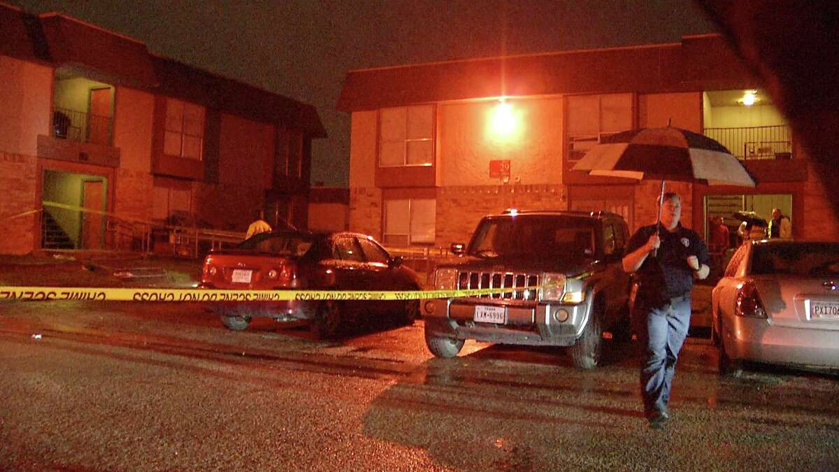 A man was shot and killed by a gunman in a white SUV in the 2900 block of Rigsby on April 17, 2019.