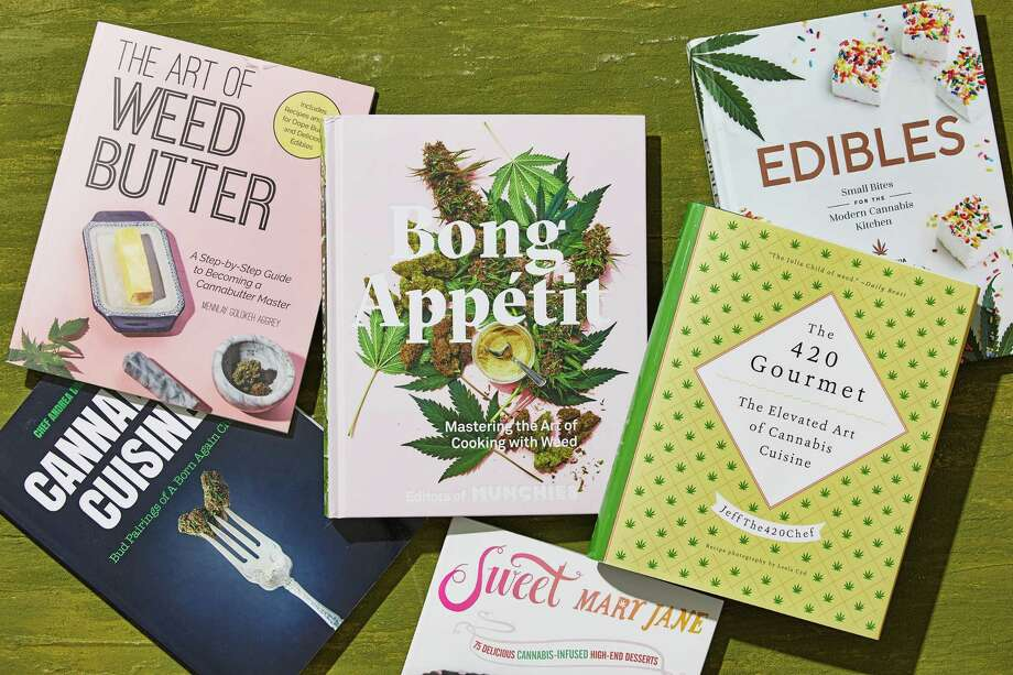 A new crop of cannabis books is blazing a path to more refined cooking. Photo: Photo By Tom McCorkle For The Washington Post. / For The Washington Post