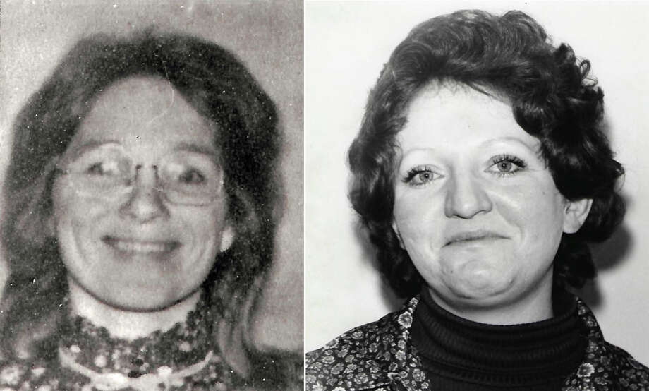 DNA testing has tied the homicides of Jane Morton Antunez, left, and Patricia Dwyer in the 1970's to Arthur Rudy Martinez. Photo: San Luis Obispo County Sheriff's Office