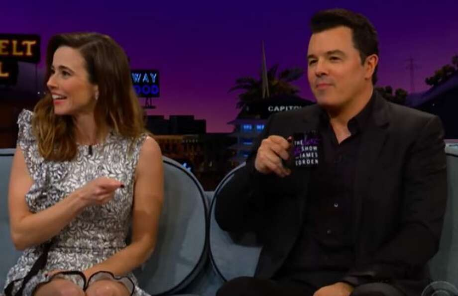 Linda Cardellini, While Sitting Next to Seth MacFarlane, Says She Was Fired  From 'Family Guy' (Video) - SFGate
