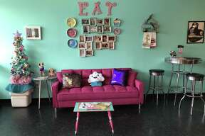 Cosmic Cakery is located at 150 W. Olmos Drive in Olmos Park.