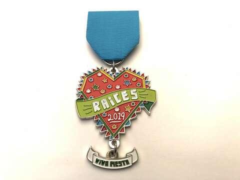 2019 Kirby Fire Department Fiesta Medal