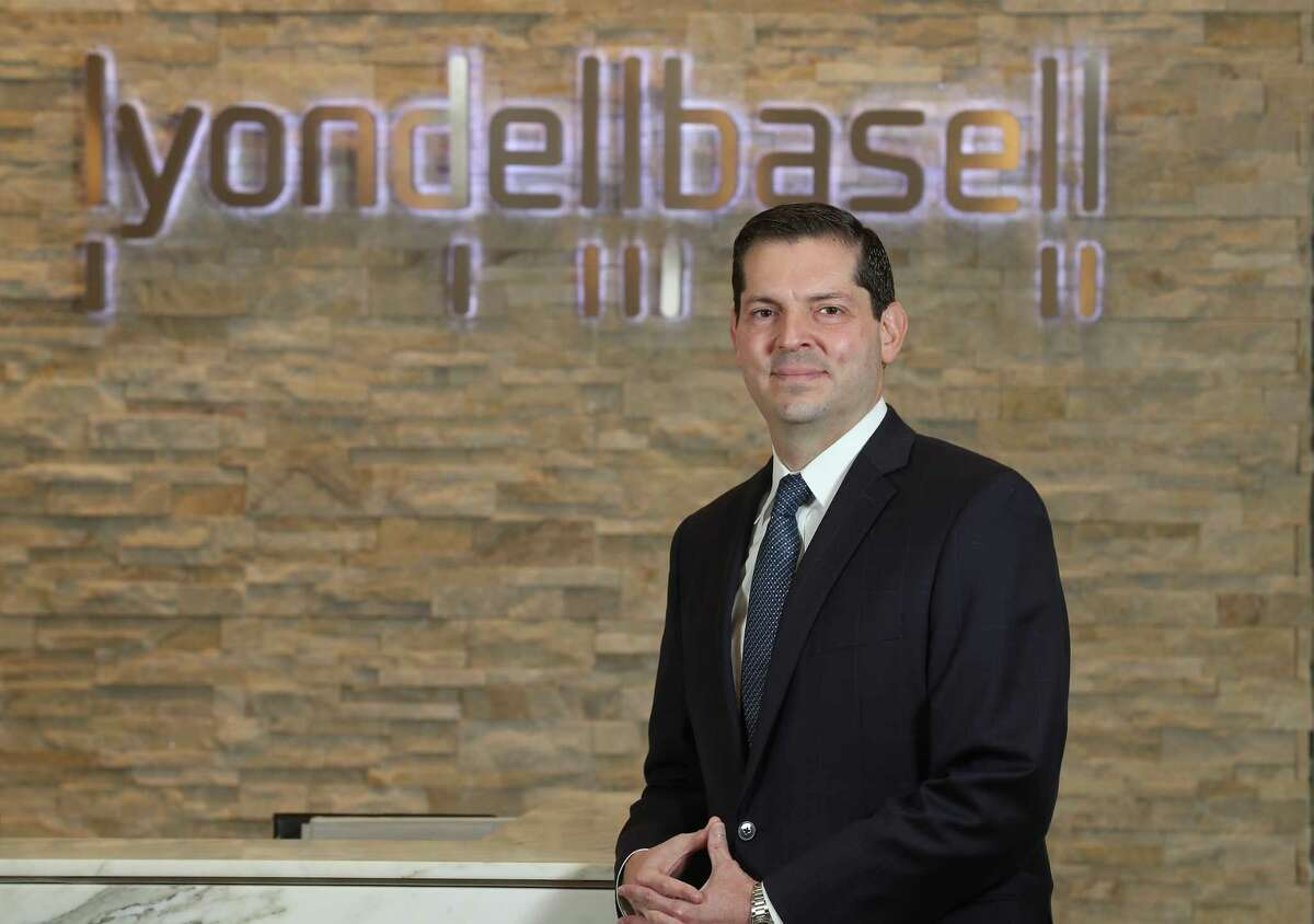 Andrew C. Gratz, Associate General Counsel, LyondellBasell Tuesday, March 26, 2019, in Houston.