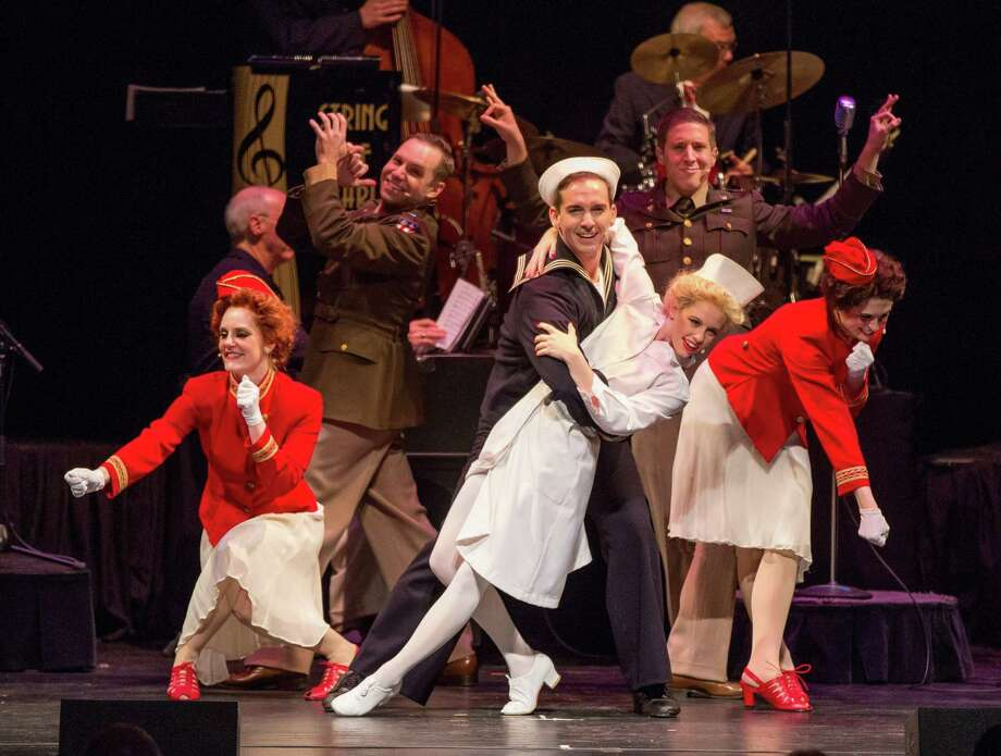 In The Mood, a 1940s musical revue, will be at The Ridgefield Playhouse April 28. Photo: The Ridgefield Playhouse / Contributed Photo / Photo by Ben Doyle, Runaway Productions LLC