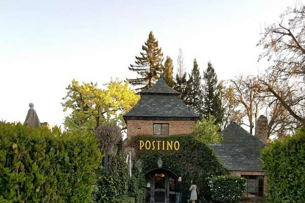 Postino in Lafayette, California. The restaurant caught on fire on Wednesday, April 17, 2019.