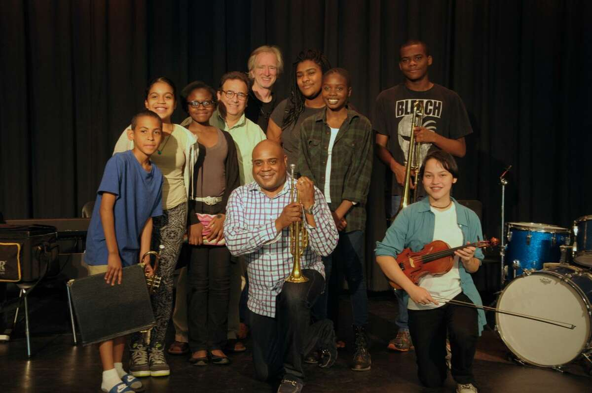 Bennie Wallace takes part in a BackCountry Jazz Summer Music Camp at Barnum School in Bridgeport, Conn. on Friday, July 17, 2015.