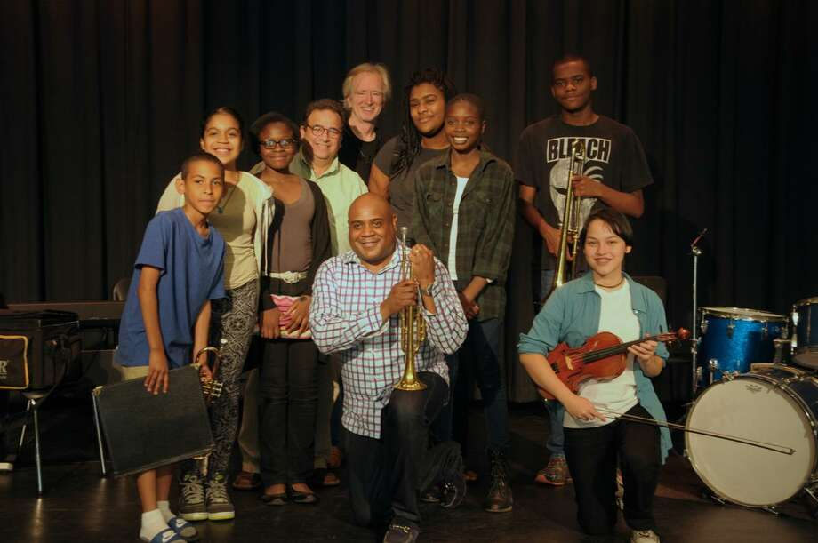 Bennie Wallace takes part in a BackCountry Jazz Summer Music Camp at Barnum School in Bridgeport, Conn. on Friday, July 17, 2015. Photo: Bob Capazzo / Contributed Photo / Connecticut Post Contributed
