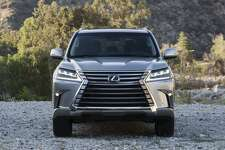 The Lexus LX 570 conquers any type of terrain in comfort, whether on rocky country roads or rugged city streets. (Motor Matters photo)