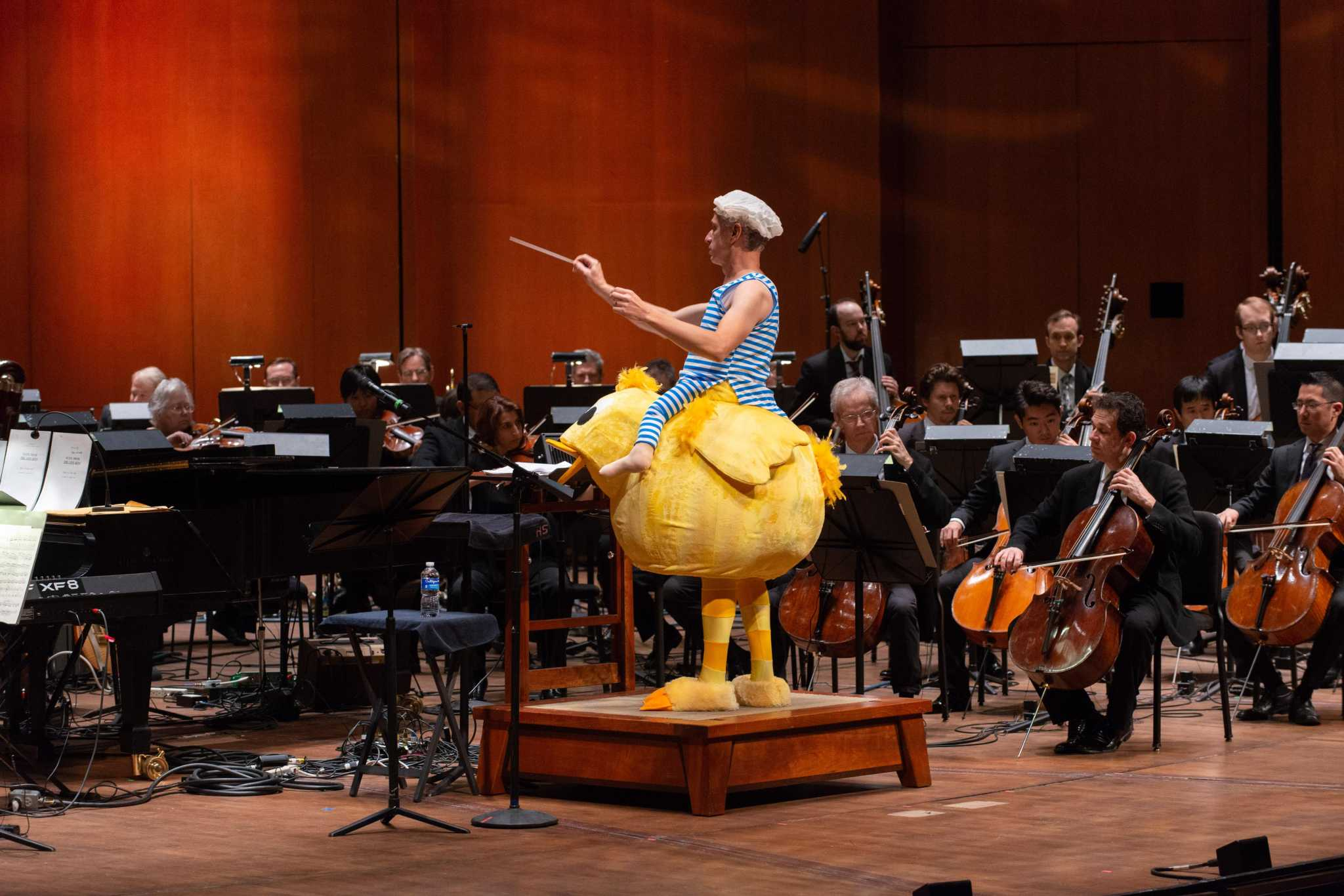 Kinder Hspva Students Join The Houston Symphony In Fairytale Concert For Families And Children Of All Ages Houston Chronicle