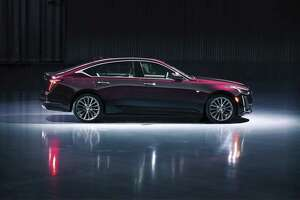 The 2020 Cadillac CT5 will arrive in the fall. Its 116-inch wheelbase translates to 42.4 inches of front legroom and 37.9 in the rear. (Cadillac photo)