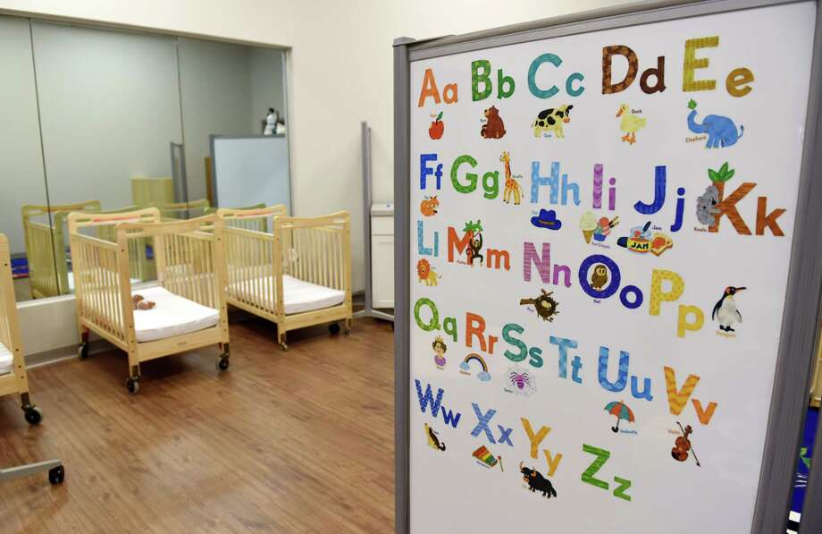 A child care center simulation room on Thursday, April 18, 2019 at the grand opening of the New York State Office of Children and Family Services Human Services Training Center in East Greenbush, NY. (Phoebe Sheehan/Times Union) Photo: Phoebe Sheehan, Albany Times Union / 20046702A