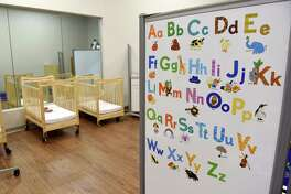 A child care center simulation room on Thursday, April 18, 2019 at the grand opening of the New York State Office of Children and Family Services Human Services Training Center in East Greenbush, NY. (Phoebe Sheehan/Times Union)