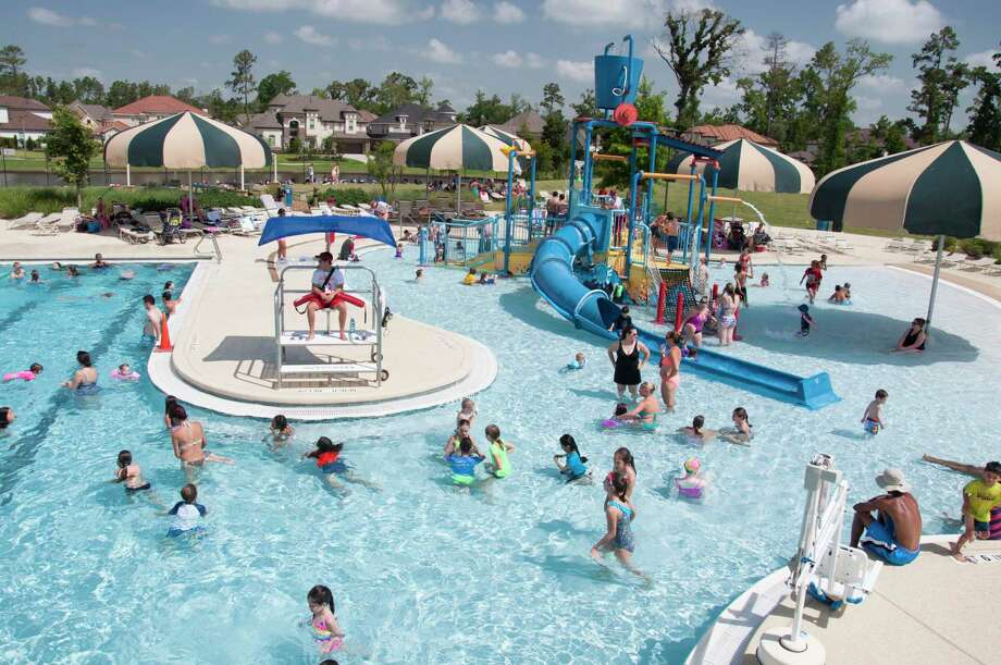 Season pool passes in The Woodlands are on sale. They are valid for entry at 14 township pools, including Rob Fleming Aquatic Center, throughout The Woodlands during the regular season, which begins May 31. Select pools are open during preseason beginning May 1. Photo: Submitted / Submitted