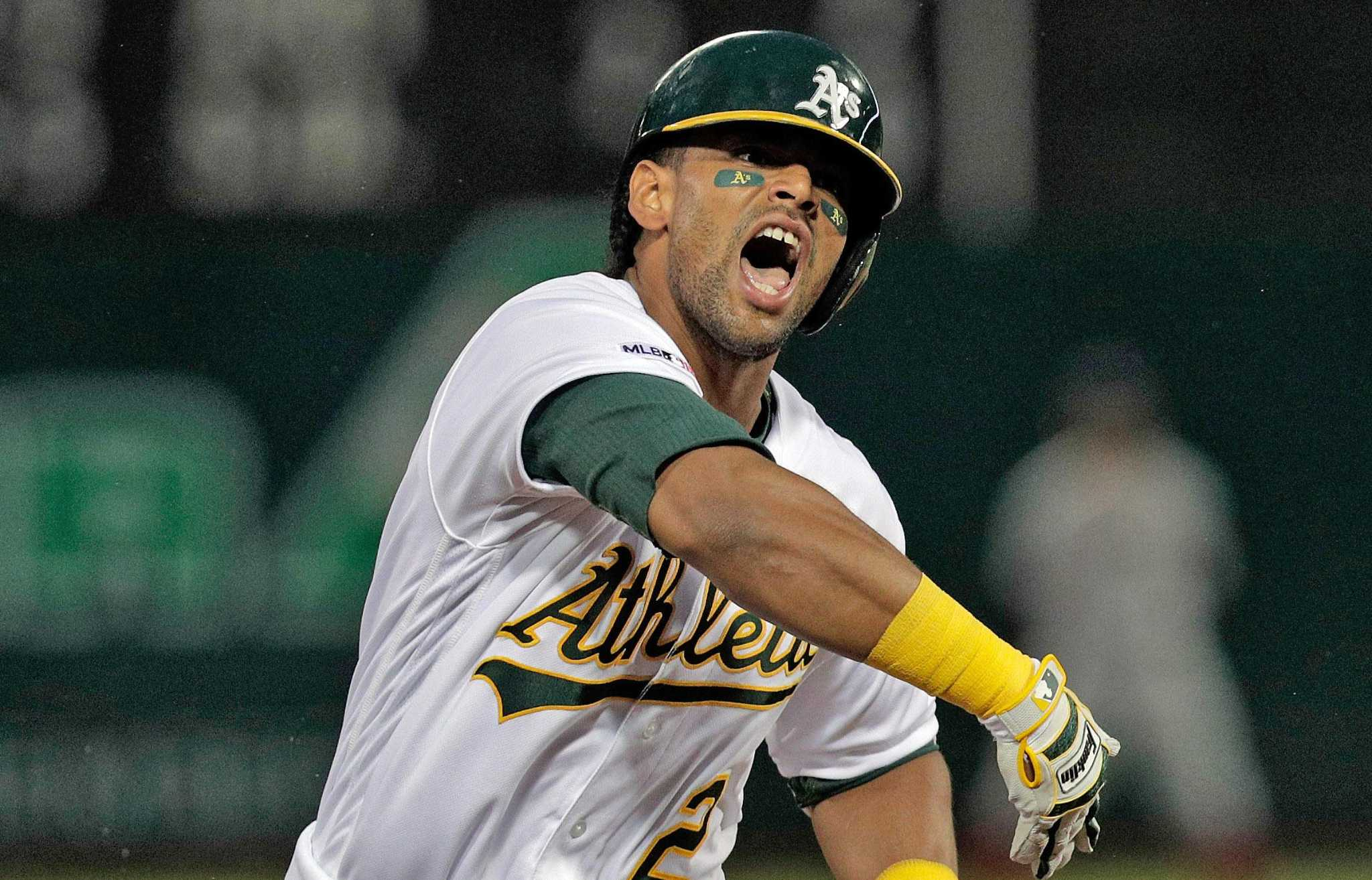 A S Giving Khris Davis A Contract Extension Sfgate