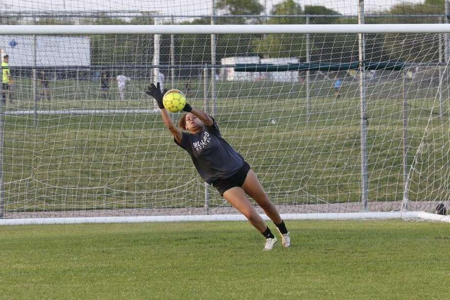 Dynastee Cain is joining TAMIU after being named the Dallas Athletic Conference All-Region Goalkeeper of the Year last season at Richland Community College. Photo: Courtesy Of TAMIU Athletics