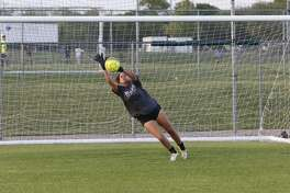 Dynastee Cain is joining TAMIU after being named the Dallas Athletic Conference All-Region Goalkeeper of the Year last season at Richland Community College.
