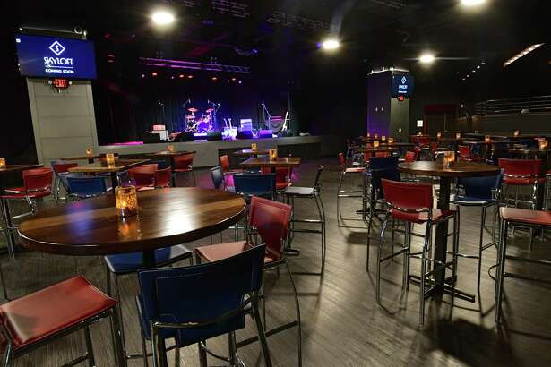 Interior of the soon-to-be-opened Skyloft, a live music venue at Crossgates Mall on Tuesday, April 16, 2019 in Guilderland, N.Y. (Lori Van Buren/Times Union)