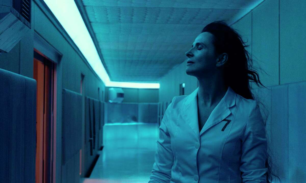 This image released by A24 Films shows Juliette Binoche in a scene from