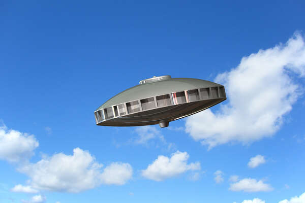 The illustration of a UFO a woman said she saw in the Bronx in 1960, UFO Investigator Linda Zimmermann said.