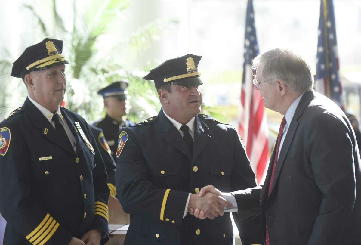 2. Diedrich Hohn Stamford Police Captain $411,680* *Includes $55,499 in extra-duty pay