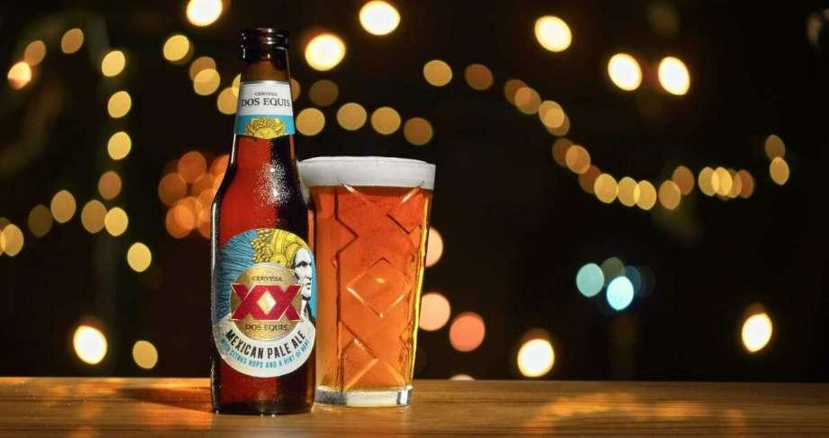 The new Dos Equis Mexican Pale Ale was introduced on Thursday during the Fiesta Fiesta event in downtown San Antonio. Free samples were distributed and can sales were brisk.
