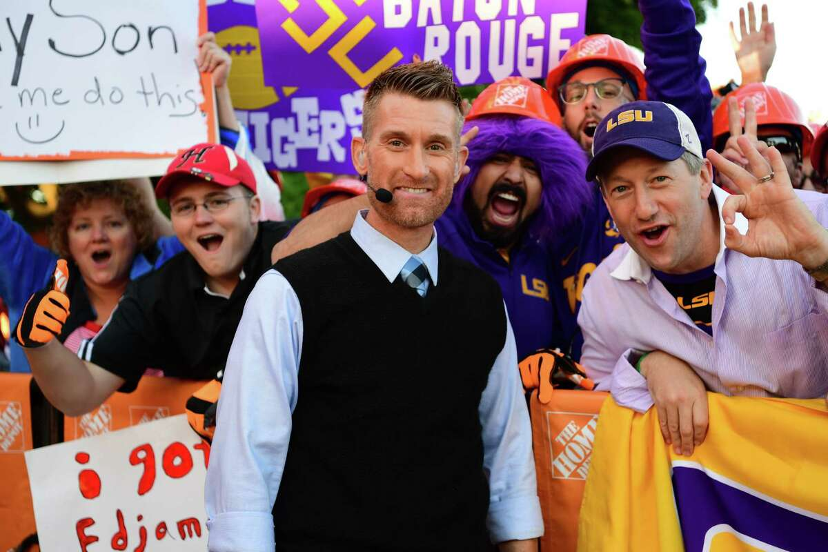 Green Bay, WI - September 3, 2016 - Lambeau Field: Marty Smith on the set of College GameDay Built by the Home Depot (Photo by Phil Ellsworth / ESPN Images)