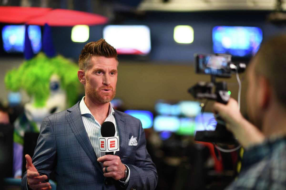 Bristol, CT - April 10, 2018: Marty Smith during SportsCenter All-Access (Photo by Joe Faraoni / ESPN Images)