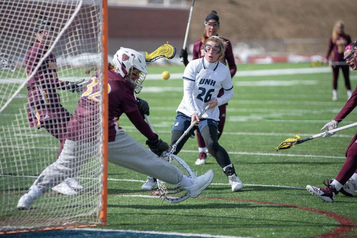 New Hampshire women's lacrosse senior Catherine Sexton of Niskayuna. (University of New Hampshire photo)