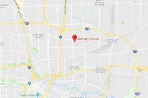Google Maps view of 4003 Wayne in northeast Houston.