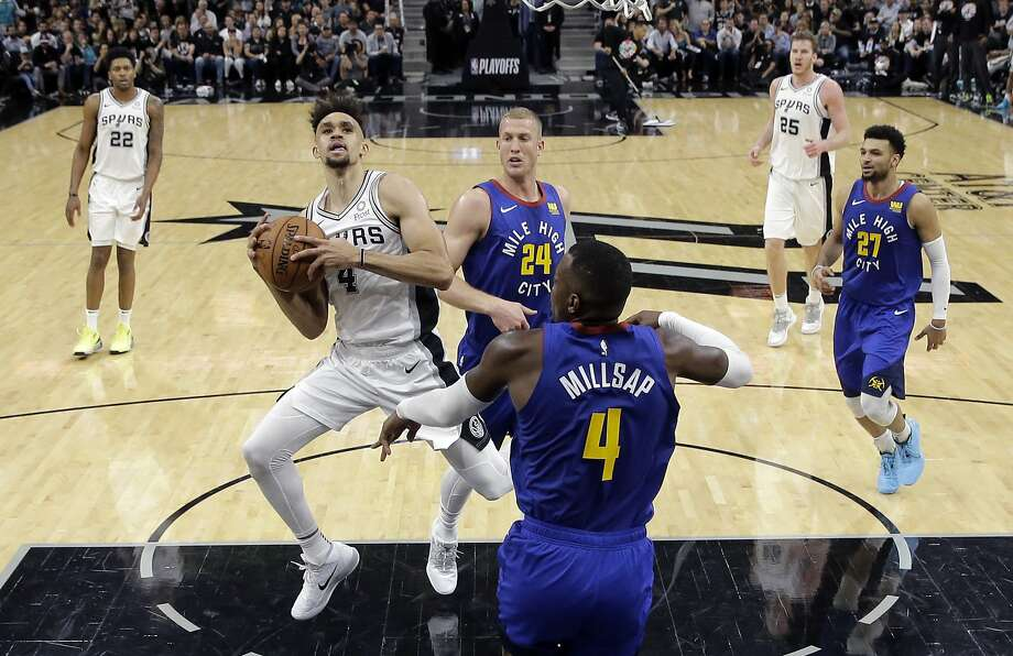 Derrick White has career-high 36 points, Spurs beat Nuggets 118-108