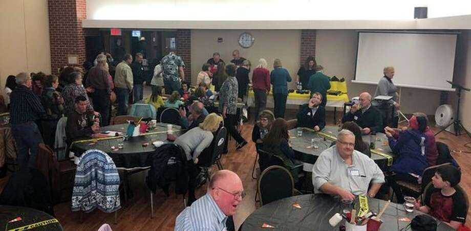 Attendees participate in the recent Open Door annual Volunteer Appreciation Reception at the Greater Midland Community Center. (Photo provided/Midland's Open Door)