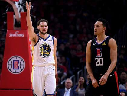 Klay Thompson's scorching shooting gives Warriors Game 4 lead over Clippers