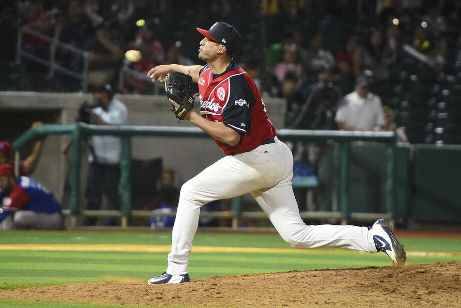 Ivan Zavala was named to his first All-Star game. Zavala has 21 strikeouts on the year with an ERA of 3.27. Photo: Danny Zaragoza /Laredo Morning Times File / Laredo Morning Times