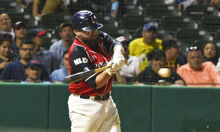 Luis Flores was responsible for the Tecolotes' lone run on Friday night as he homered in a 12-1 loss to last-place Leones de Yucatan. The Tecos have lost six straight. Photo: Danny Zaragoza /Laredo Morning Times File / Laredo Morning Times