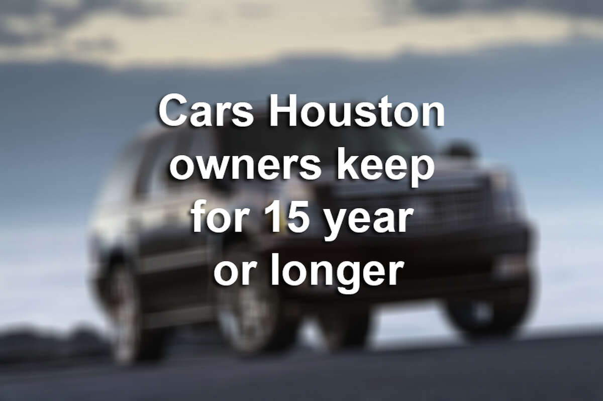 iSeeCars.com analyzed the top cars in Houston that owners keep the longest. >> Click through the following gallery to see cars that owners in Houston keep for 15 years or longer.