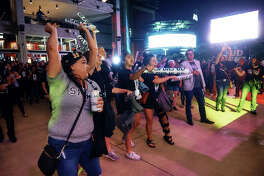 San Antonio Spurs fans brought the heat to help the Silver and Black boost past the Denver Nuggets on Thursday, April 18, 2019, at the AT&T Center. The Spurs won 118 to 108 over the Nuggets.