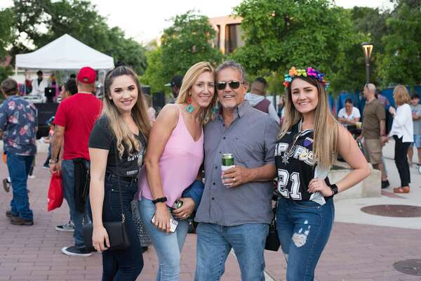 San Antonians kicked off the official start to Fiesta 2019 at Hemisfair for Fiesta Fiesta on Thursday, April 18, 2019.