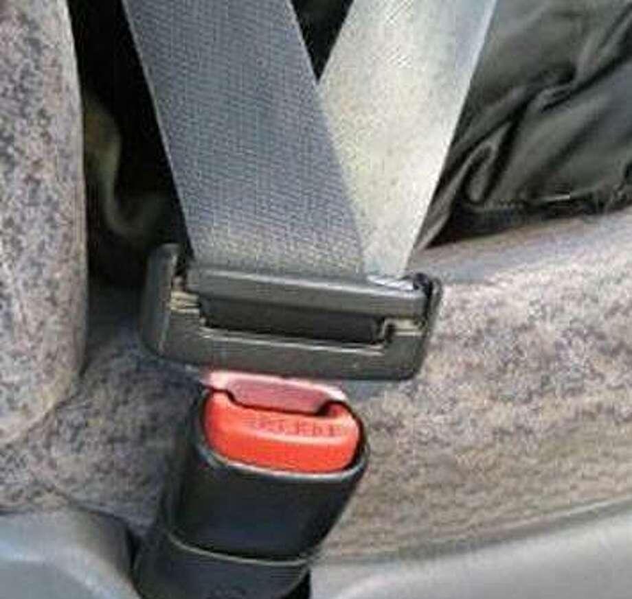 A fastened seatbelt. Photo: Contributed Photo / Internal