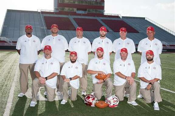 In addition to Jeff Riordan (bottom row, center), Cesar Rosales (bottom row, second from left) and Charlie Coker (bottom row, far left) have accepted positions at other schools