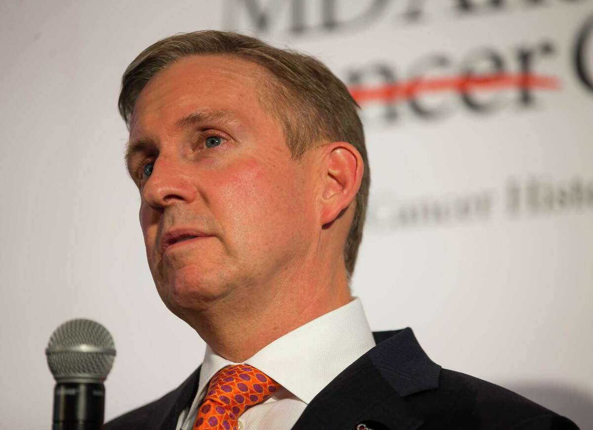 Dr. Peter W.T. Pisters is president of MD Anderson Cancer Center.