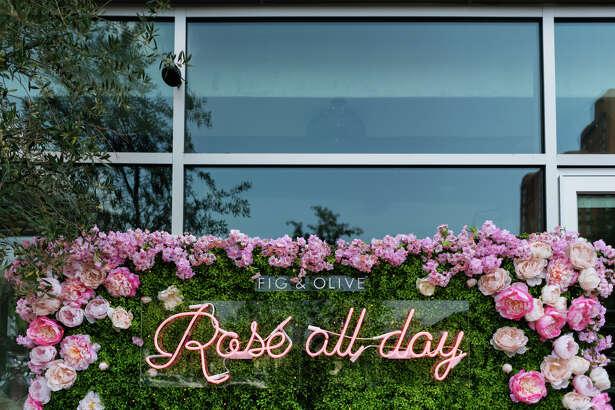 Rosé Terrace at Fig & Olive.