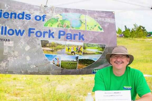 Neil Stillman is president of the Friends of Willow Fork Park.The group promotes nature-based programs for kids and families at the park.
