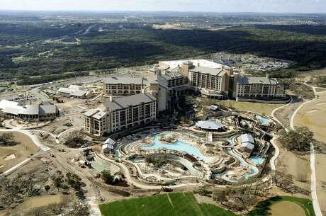 The JW Marriott of San Antonio Hill Country Resort and the TPC San Antonio golf course as they were nearing completion in 2010. BILLY CALZADA / gcalzada@express-news.net