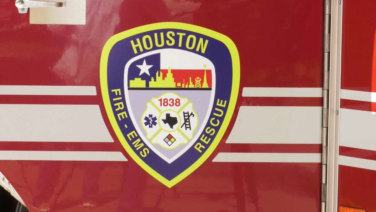 FILE - A logo of the Houston Fire Department. Tuesday, a judge ruled an HFD captain would be prohibited from seeing his children after he was charged on 10 counts of possession of child pornography.