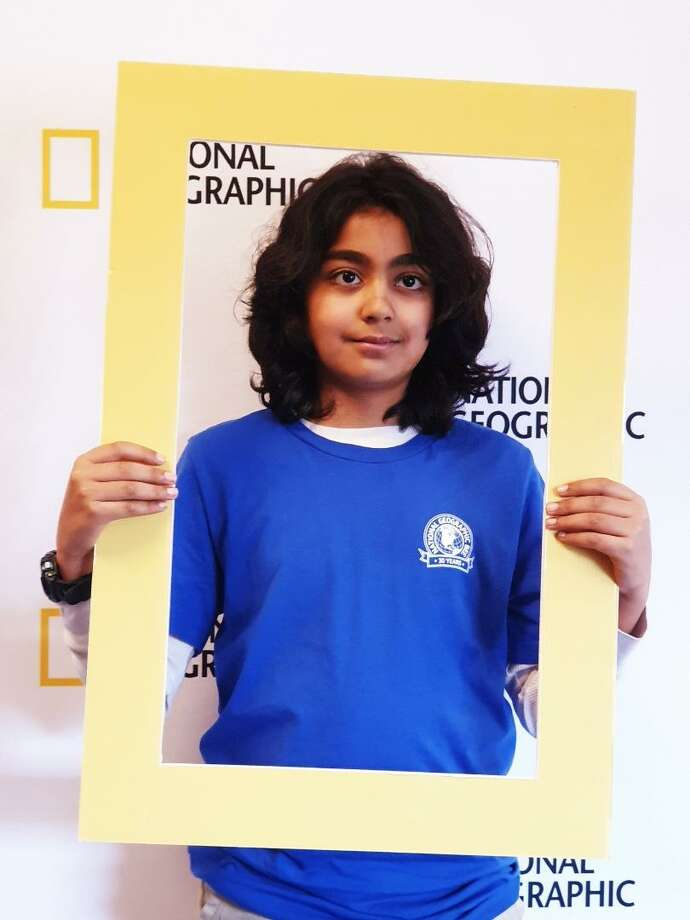 Aditya Singh, a fifth-grader at King Street Intermediate school, advanced to the top 10 in the Connecticut National Geographic Bee at Central Connecticut State University. Photo: / Contributed Photo