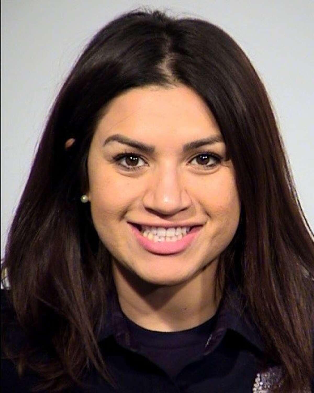 Nicolette Muniz was arrested on suspicion of assault family violence.