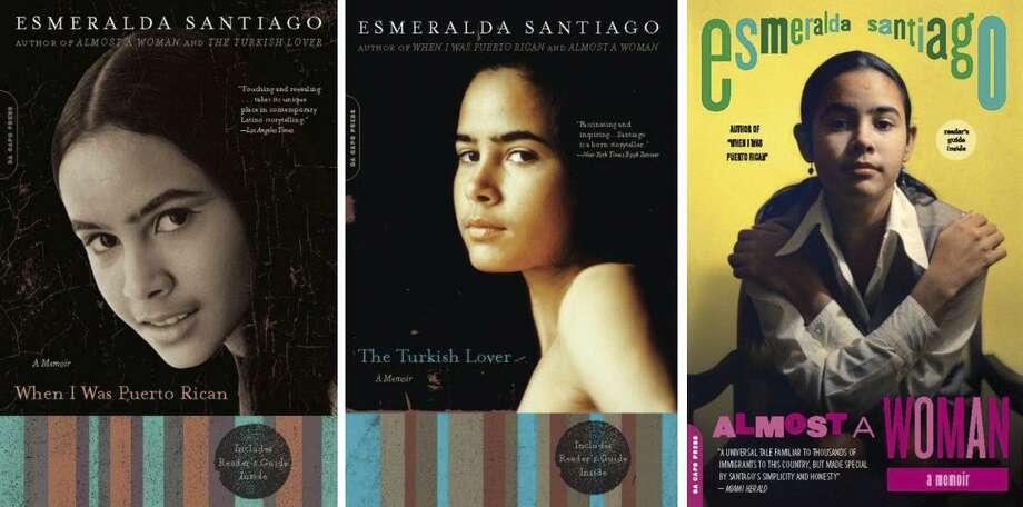 Esmeralda Santiago book covers. Photo: HANDOUT, HO / NYT / HANDOUT
