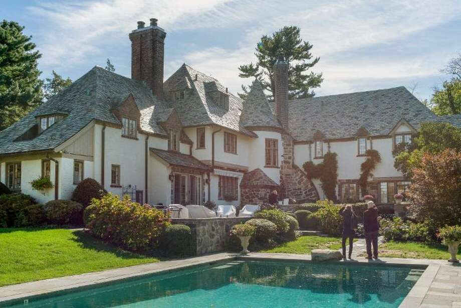 The 1927 French Eclectic style Arthur & Ida Rinke House will receive a plaque at the Greenwich Historical Society's Greenwich Landmarks Recognition Program on April 28. Photo: / Photo By Trisha Estill.