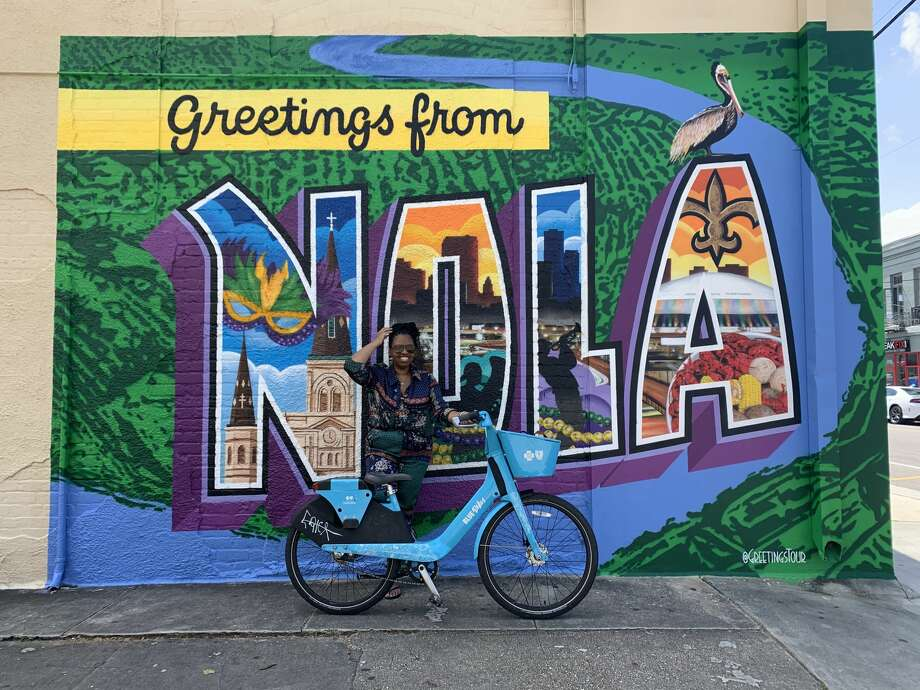 How a friend and I decided to explore New Orleans by way of bike share was by pure coincidence —  but I highly recommend the same decision to anyone visiting the Big Easy.  Photo: Susana Guerrero/ SFGATE