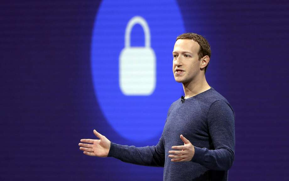 CEO Mark Zuckerberg's leadership of Facebook may face oversight from the Federal Trade Commission. Photo: Marcio Jose Sanchez / Associated Press 2018